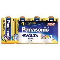 パナソニック LR20EJ/4SW エボルタ乾電池単一形4本パック 1個 (直送品)