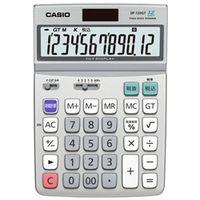 カシオ計算機 DF-120GT-N デスク型電卓12桁グリーン購入法適合商品 1個 (直送品)
