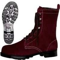 ミドリ安全 耐熱 安全靴 W3901N ブラウン 24.0cm(3E) 1足 (直送品)