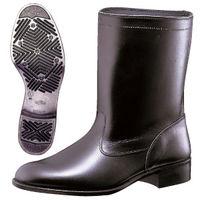 ミドリ安全 作業靴 半長靴 MT601T ブラック 24.0cm(3E) 1足 (直送品)