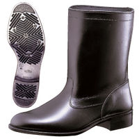 ミドリ安全 作業靴 半長靴 MT601T ブラック 27.0cm(3E) 1足 (直送品)