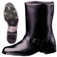 ミドリ安全 作業靴 半長靴 MT602TN ブラック 24.5cm(3E) 1足 (直送品)