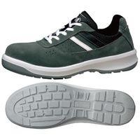 ミドリ安全 小さいサイズ 安全靴 G3550 ひもタイプ グレー 22.5cm(3E) 1足 (直送品)