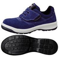 ミドリ安全 安全靴 G3555 マジックタイプ ブルー 小 22.0cm 1足(直送品)