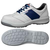 ミドリ安全 静電安全靴 ESG3890 eco ホワイト 25.5cm 1足(直送品)