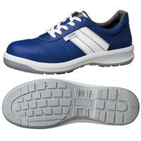 ミドリ安全 静電安全靴 ESG3890 eco ブルー 小 22.5cm 1足(直送品)