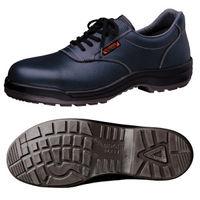 ミドリ安全 快適安全靴 ハイ・ベルデコンフォート CF211 ネイビー 24.0cm(3E) 1足 (直送品)