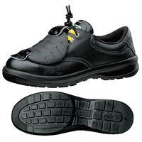 ミドリ安全 小さいサイズ 快適安全靴 ハイ・ベルデコンフォート G3210 甲プロMII ゴム紐静電 ブラック 22.0cm(3E) 1足 (直送品)