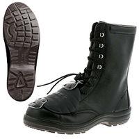 ミドリ安全 安全靴 ハイ・ベルデコンフォート CF130 甲プロMII HS ブラック 25.0cm(3E) 1足 (直送品)