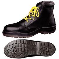ミドリ安全 静電安全靴 ハイ・ベルデコンフォート CF120 ブラック 25.0cm(3E) 1足 (直送品)