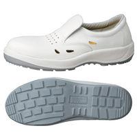 ミドリ安全 女性用 静電安全靴 LCF200 ホワイト 23.5cm(3E) 1足 (直送品)
