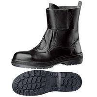 ミドリ安全 耐熱 安全靴 RT173N ブラック 24.0cm(3E) 1足 (直送品)