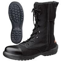 ミドリ安全 消防仕様 静電作業靴 ラバーテック RT541F Pー4CAP 静電 27.5cm 1足(直送品)
