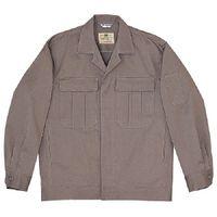 ミドリ安全 綿4つポケットジャンパー M2301 上 グレー L 1着(直送品)