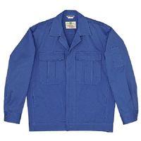 ミドリ安全 綿4つポケットジャンパー M2307 上 ブルー L 1着(直送品)