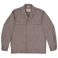ミドリ安全 綿4つポケットジャンパー M2301 上 グレー 3L 1着(直送品)