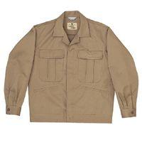 ミドリ安全 混紡4つポケットジャンパー M5400 上 ベージュ L 1着(直送品)