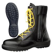 ミドリ安全 静電安全靴 RT730F オールハトメ ブラック 25.5cm(3E) 1足 (直送品)