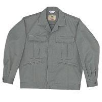 ミドリ安全 混紡4つポケットジャンパー M5401 上 グレー 5L 1着(直送品)