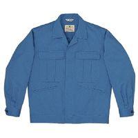 ミドリ安全 混紡4つポケットジャンパー M5403 上 ブルー 4L 1着(直送品)