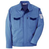 ミドリ安全 ブルゾン RC193 上 ブルー 4L  1着(直送品)
