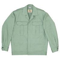ミドリ安全 混紡4つポケットジャンパー M5608 上アースグリーン 5L 1着(直送品)