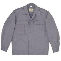 ミドリ安全 混紡4つポケットジャンパー M5601 上 グレー L 1着(直送品)