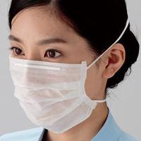 ミドリ安全 ミドリクリーンマスク オーバーヘッド式 K-214 2枚重ね 100枚×30入 1箱(3000枚入:100枚×30)(直送品)