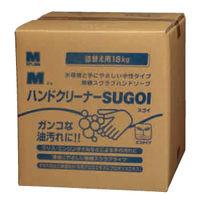 ミドリ安全 洗浄力アップ Mハンドクリーナー SUGOI 18kg BIB容器 コック付 1個(直送品)