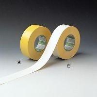 ミドリ安全 ラインテープ E-A 白 50mm幅×50m  1巻(直送品)