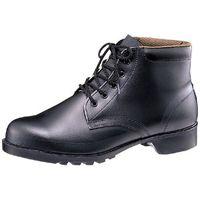 ミドリ安全 防水・耐油・耐薬 ゴム底安全靴 V262NT ブラック 25.0cm(3E) 1足 (直送品)