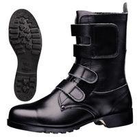 ミドリ安全 安全靴 V275N マジックテープ ブラック 24.0cm(3E) 1足 (直送品)