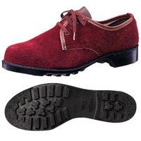 ミドリ安全 耐熱 安全靴 V351 ブラウン 24.5cm(3E) 1足 (直送品)