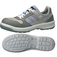ミドリ安全 安全靴 G3690 ひもタイプ グレイ 23.5cm 1足(直送品)
