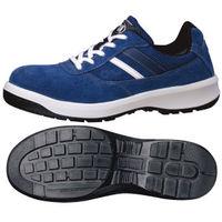 ミドリ安全 安全靴 G3550 ひもタイプ ブルー 24.5cm(3E) 1足 (直送品)