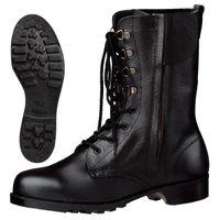 ミドリ安全 安全靴 V2133 チャックN ブラック 24.0cm(3E) 1足 (直送品)