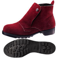 ミドリ安全 耐熱 安全靴 V2610 ブラウン 26.5cm(3E) 1足 (直送品)