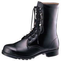 ミドリ安全 耐油・耐薬仕様 ゴム底安全靴 長編上靴 V213NT ブラック 25.5cm 1足(直送品)
