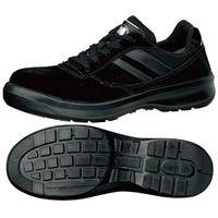 ミドリ安全 JIS規格 安全靴 スニーカータイプ G3550 24.0cm ブラック 1足 1204001007(直送品)
