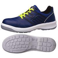 ミドリ安全 安全靴 G3590 静電 ひもタイプ ネイビー 23.5cm 1足(直送品)