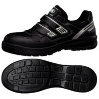 ミドリ安全 安全靴 G3695 マジックタイプ ブラック 小 22.0cm 1足(直送品)
