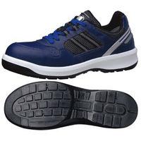 ミドリ安全 JSAA認定 作業靴 プロスニーカー G3690 27.5cm ネイビー 1足 1204003014(直送品)