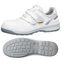 ミドリ安全 安全靴 G3695 マジックタイプ 静電 ホワイト 24.5cm 1足(直送品)