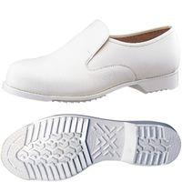 ミドリ安全 静電安全靴 CR7300 ホワイト 24.0cm(3E) 1足 (直送品)