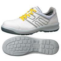 ミドリ安全 安全靴 G3590 静電 ひもタイプ ホワイト 25.5cm 1足(直送品)