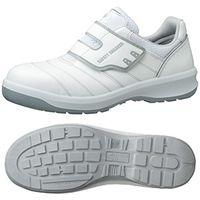 ミドリ安全 JSAA認定 作業靴 プロスニーカー G3595 26.5cm ホワイト 1足 1204000412(直送品)