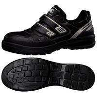 ミドリ安全 JSAA認定 作業靴 プロスニーカー G3695 24.0cm ブラック 1足 1204002007(直送品)