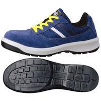 ミドリ安全 静電安全靴 G3550 ひもタイプ ブルー 25.0cm 1足 (直送品)