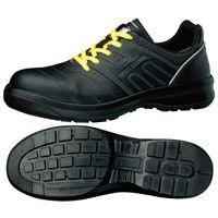 ミドリ安全 安全靴 G3590 静電 ひもタイプ ブラック 24.0cm 1足(直送品)