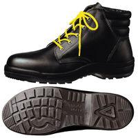 ミドリ安全 静電安全靴 ハイ・ベルデコンフォート CF220 ブラック 27.0cm(3E) 1足 (直送品)